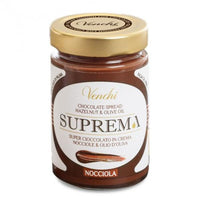 Venchi Milk Chocolate and Hazelnut Spread, 11.28 oz (320 g)