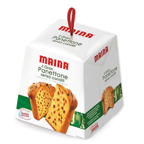 Italian Panettone without Candied Fruit by Maina 35 oz