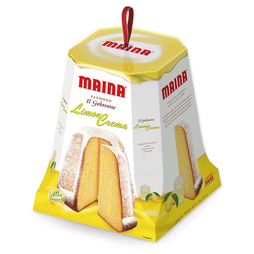 Maina Italian Pandoro with Lemon Cream 26.4 oz. (750g)