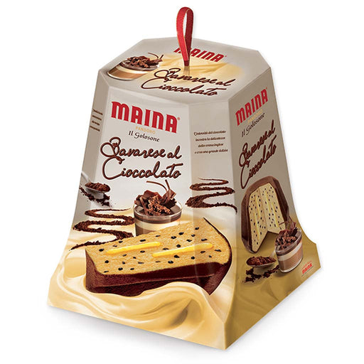 Maina Italian Pandoro with Bavarian Cream 26.4 oz. (750g)