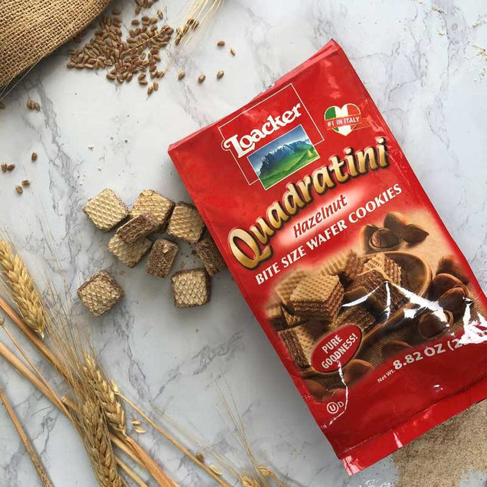 Hazelnut Quadratini 8.8 oz by Loacker