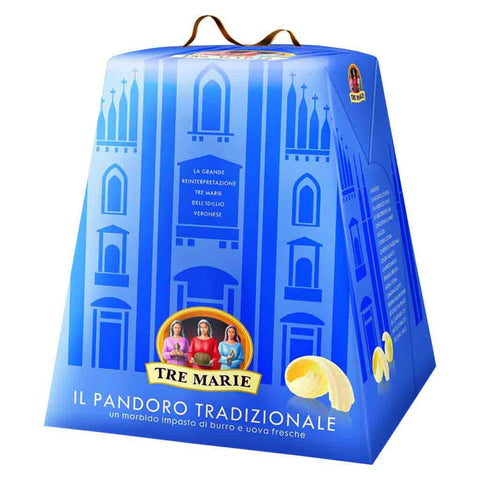 Traditional Italian Pandoro by Tre Marie 2.2 lbs