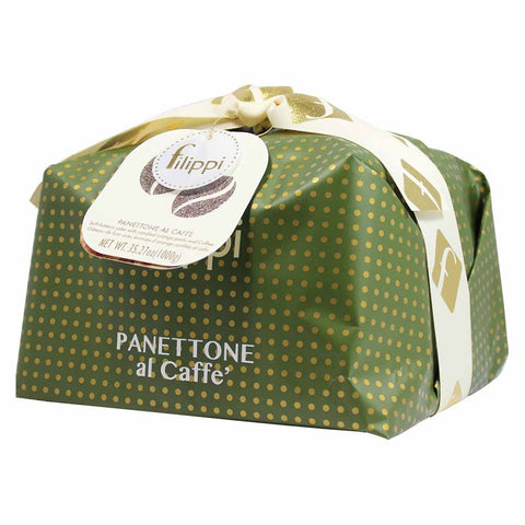 Large Italian Coffee Panettone by Filippi 35.2 oz (1kg)