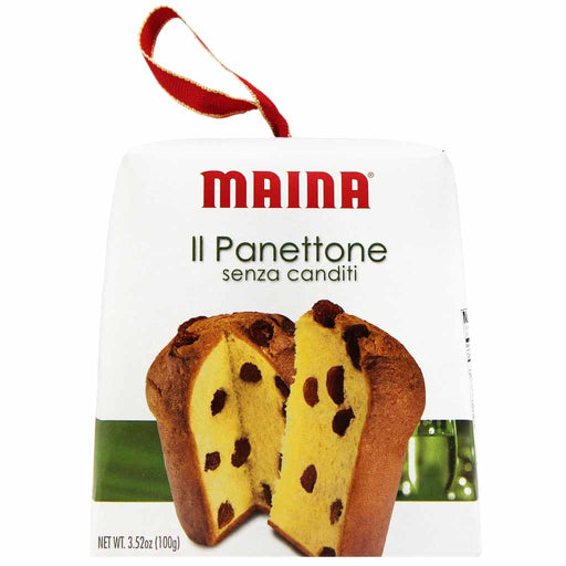 Maina Mini Italian Panettone without Candied Fruit 3.5 oz. (100g)