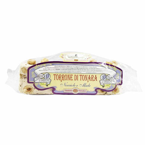 Torrone Nougat with Hazelnuts and Honey by Sardegna 7 oz