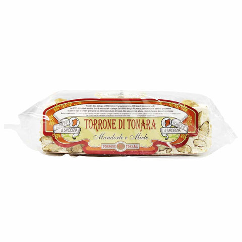 Torrone Nougat with Almonds and Honey by Sardegna 7 oz
