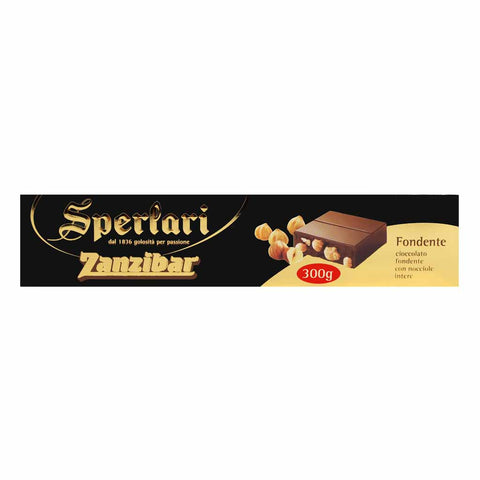 Dark Chocolate Zanzibar by Sperlari 10.4 oz (300g)
