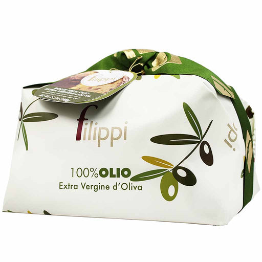 Large Italian Extra Virgin Olive Oil Panettone by Filippi 35 oz (1kg)