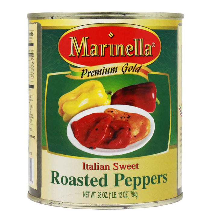 Italian Fire-Roasted Sweet Peppers by Marinella, 28 oz