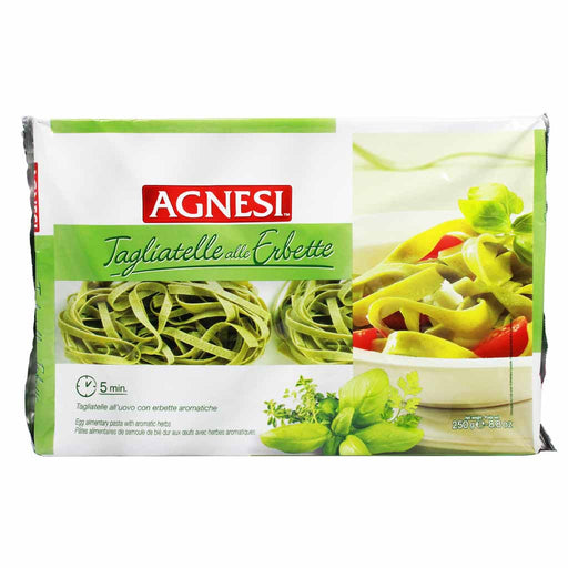 Agnesi Pasta Egg Tagliatelle with Herbs 8.8 oz