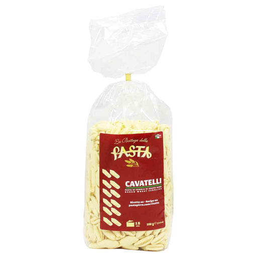 Italian Cavatelli Pasta by La Bottega 17.6 oz