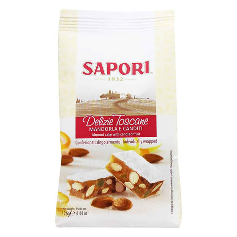 Candied Fruit and Almond Panforte by Sapori 4.4 oz