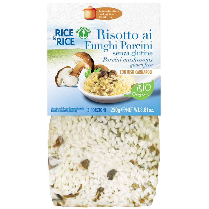 Organic Risotto with Mushrooms by Probios 8.8 oz