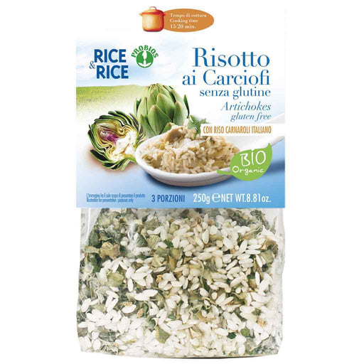 Organic Gluten Free Risotto with Artichokes by Probios 8.8 oz