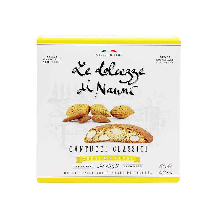 Italian Almond Cantucci Biscuits by Dolcezze di Nanni 6 oz