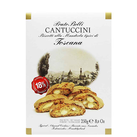Biscottificio Belli Almond Biscotti Cantuccini in Gift Box 8.8 oz (250g)