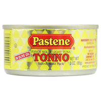 Pastene Fancy Solid Light Tuna in Olive Oil 3 oz. (85 g)