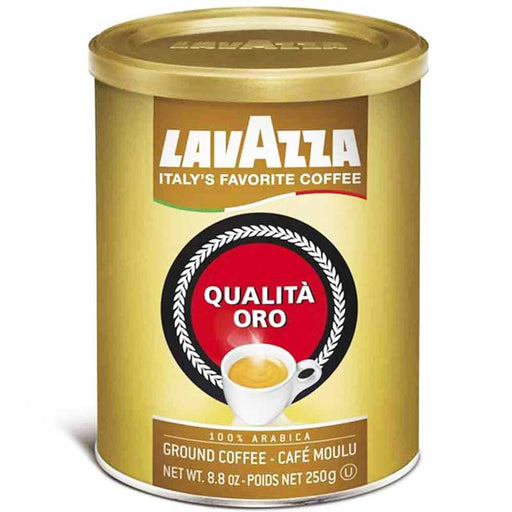 Free Shipping | 12-Pack Lavazza Qualita Oro Ground Coffee Medium Roast (8.8 oz. x 12)