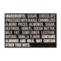 Perugina Dark Chocolate Bar with Almonds 3 oz