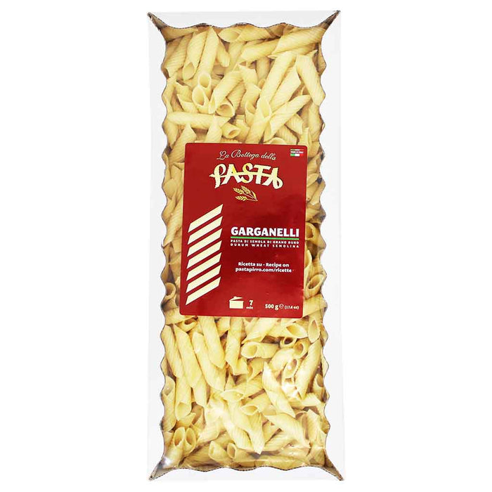 La Bottega Durum Wheat Garganelli Pasta 17.6 oz. (500 g)