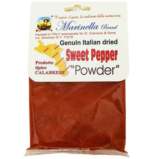 Italian Sweet Pepper Powder by Marinella, 1.8 oz. (50g)