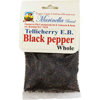 Marinella Tellicherry E.B. Whole Black Pepper 1.8 oz. (50g)