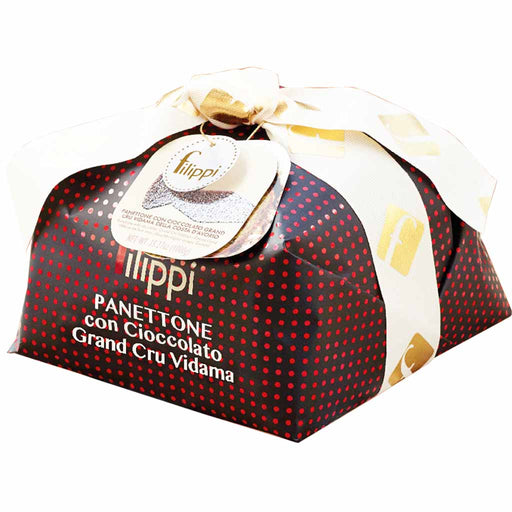 Filippi Large Italian Grand Cru Vidama Chocolate Panettone 35.2 oz. (1kg)