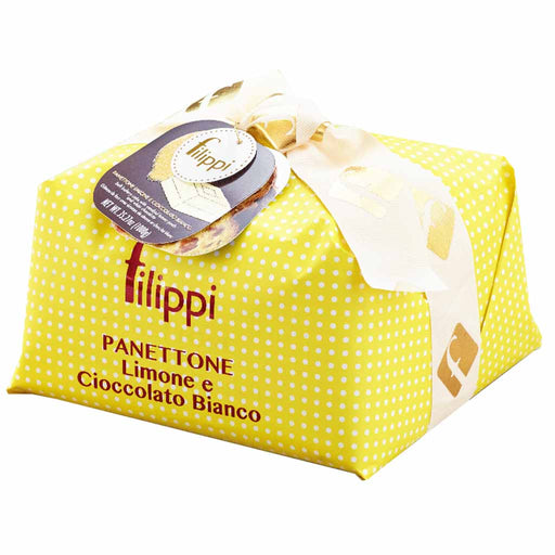Filippi Large Italian White Chocolate and Lemon Panettone 35.2 oz. (1kg)