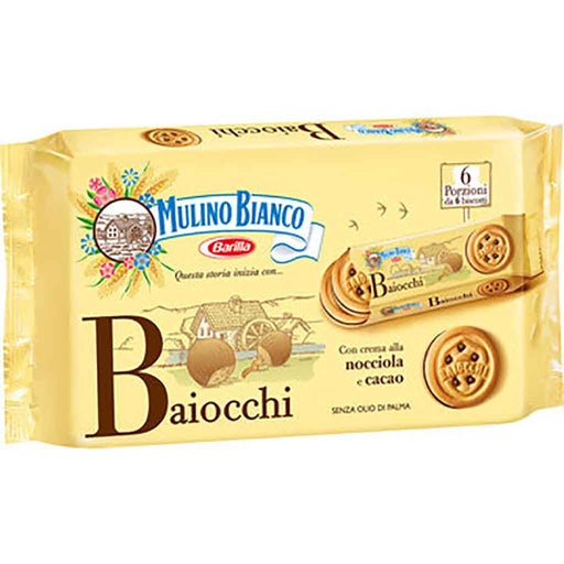 Baiocchi Cookies by Mulino Bianco, 11.8 oz. (336g)
