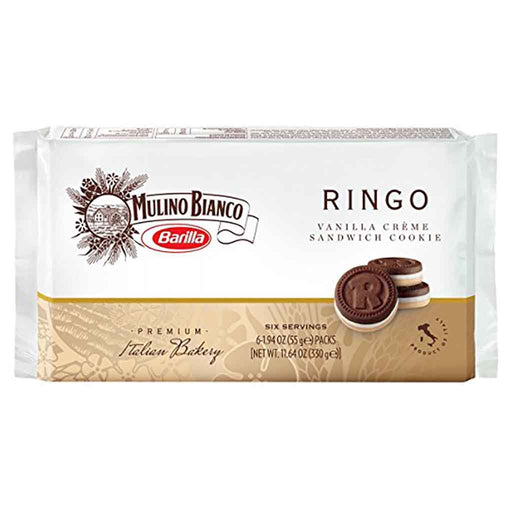 Mulino Bianco Ringo Snack Packs 11.6 oz. (330g)
