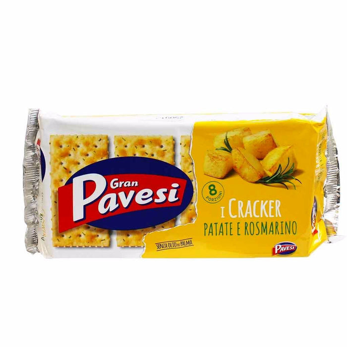 Gran Pavesi Potato and Rosemary Crackers 8.8 oz. (250g)