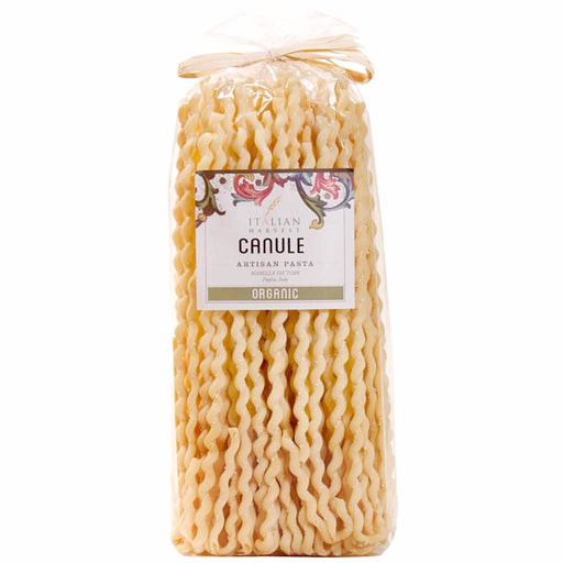Marella Organic Canule Pasta from Italy, 17.6 oz (500 g)