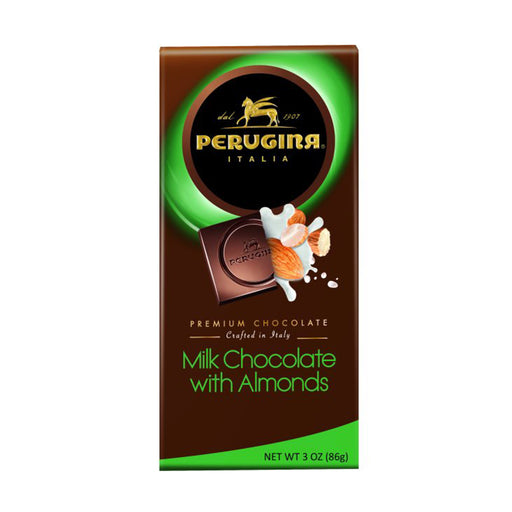 Perugina Milk Chocolate with Almonds Bar 3 oz
