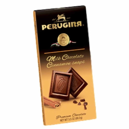 Perugina Milk Chocolate Cinnamon Snaps Bar 3.5 oz. (99g)