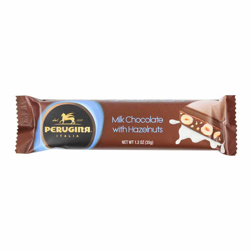 Perugina Snack Size Milk Chocolate with Hazelnuts Bar 1.2 oz. (35g)