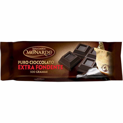 Dolciaria Monardo Dark Chocolate Bar, 17.6 oz (500 g)