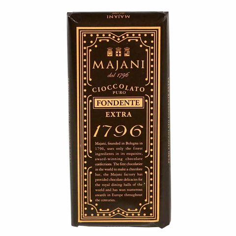 Majani 1796 53% Dark Chocolate Bar 3.3 oz. (100g)