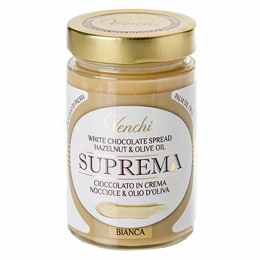 Venchi White Chocolate and Hazelnut Spread 10.5 oz. (300 g)