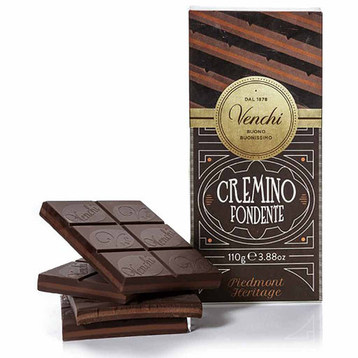 Venchi Dark Cremino Bar 3.8 oz. (110g)