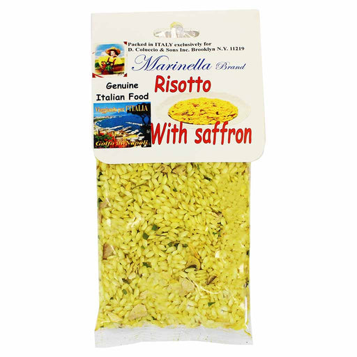 Marinella Italian Risotto Mix with Saffron 7 oz. (200g)