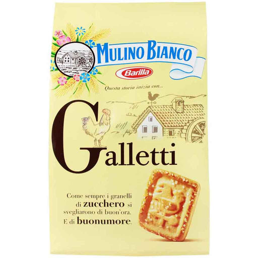 Mulino Bianco Galletti Biscuits Family Size, 28.2 oz (800g)