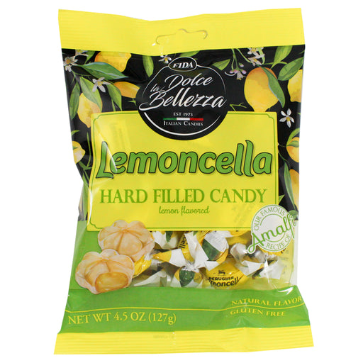 Fida Lemoncella Hard Filled Candies 4.5 oz. (127g)