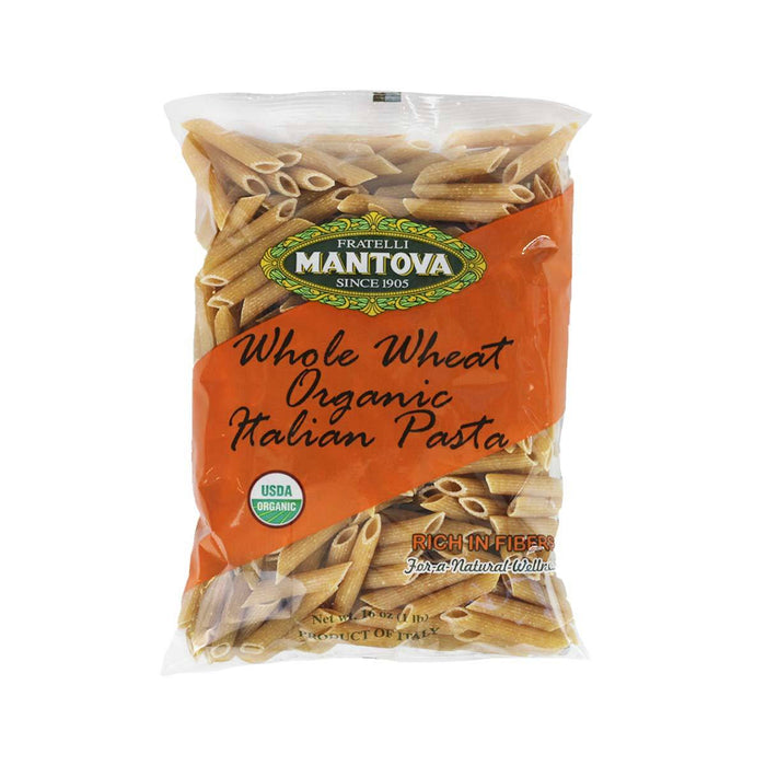 Mantova - Imported Organic Whole Wheat Penne, Italy 16 oz.