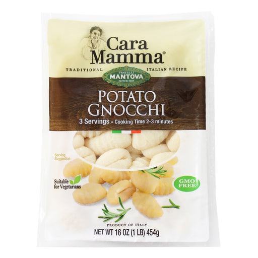 Potato Gnocchi from Mantova Cara Mamma 16 oz. (454g)