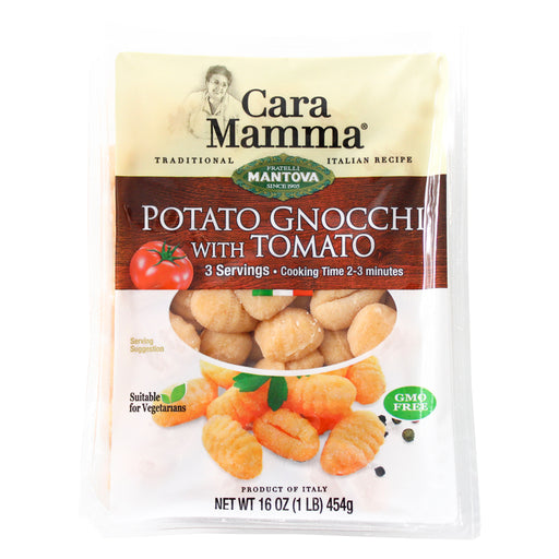 Potato Gnocchi with Tomato from Mantova Cara Mamma 16 oz. (454g)