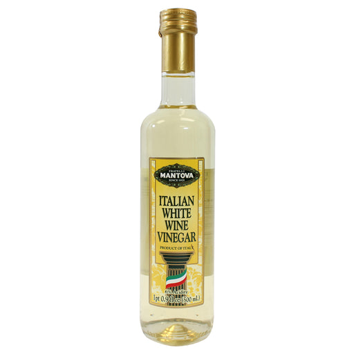 Mantova White Wine Vinegar from Italy 17 fl oz. (500ml)
