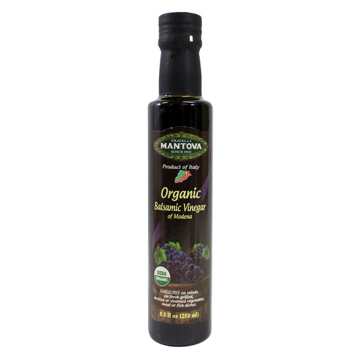 Mantova Organic Balsamic Vinegar of Modena 8.5 fl oz. (250ml)