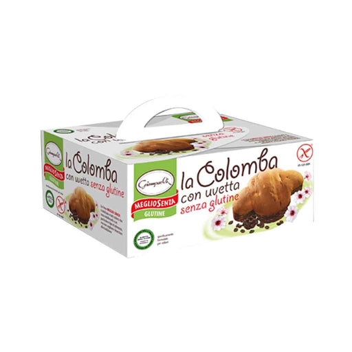 Giampaoli Gluten Free Colomba Cake with Raisins 12.3 oz. (350g)