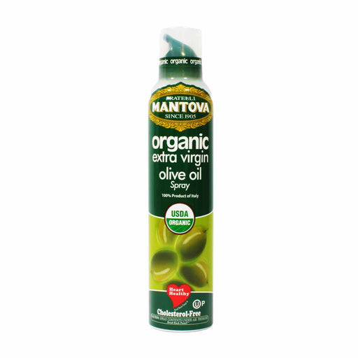Mantova Pure Organic Italian Extra Virgin Olive Oil Spray 8.5 oz.