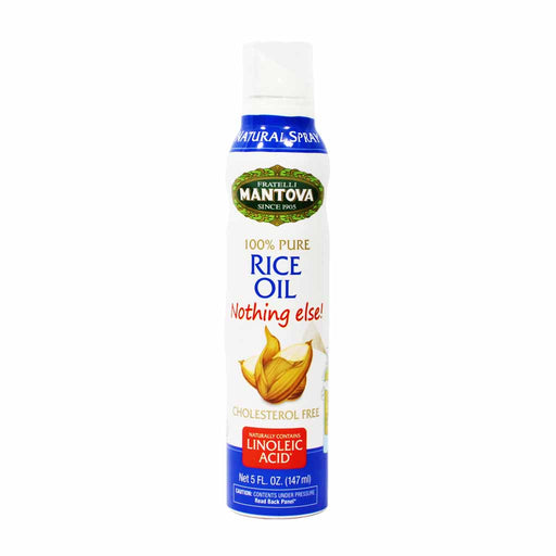 Mantova Pure Italian Rice Oil Spray 5 oz.